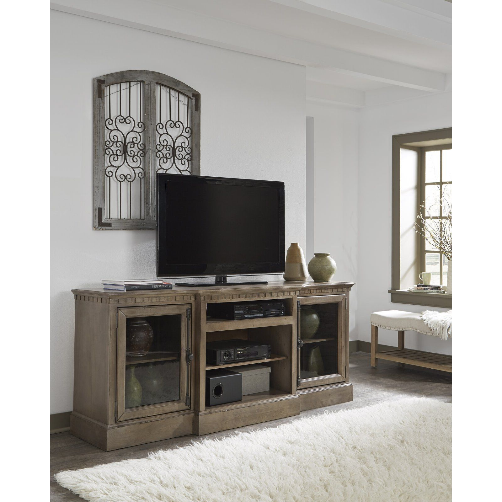"""Greyleigh Marbleton Tv Stand For Tvs Up To 70"""" & Reviews For Griffing Solid Wood Tv Stands For Tvs Up To 85"""" (View 12 of 20)"""