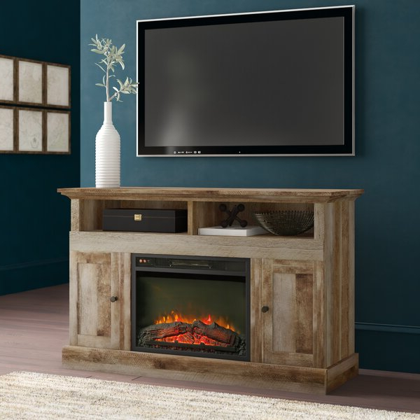 """Greyleigh™ Ringgold Tv Stand For Tvs Up To 58"""" With For Chicago Tv Stands For Tvs Up To 70"""" With Fireplace Included (View 2 of 20)"""