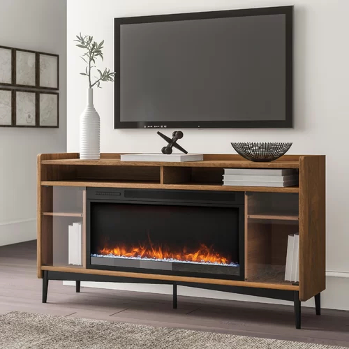"""Gutierrez Tv Stand For Tvs Up To 70"""" With Fireplace For Chicago Tv Stands For Tvs Up To 70"""" With Fireplace Included (View 15 of 20)"""