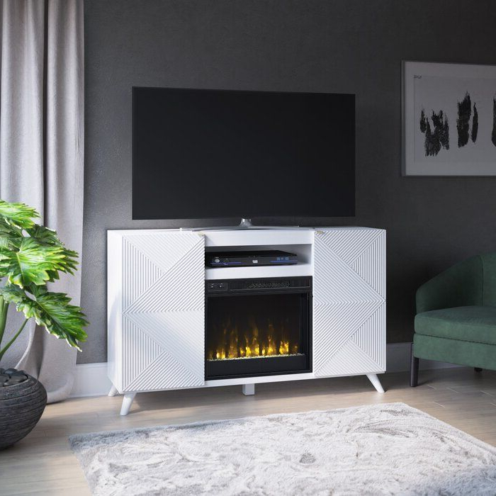 """Halvorsen Tv Stand For Tvs Up To 65"""" With Fireplace In Hetton Tv Stands For Tvs Up To 70"""" With Fireplace Included (View 17 of 20)"""