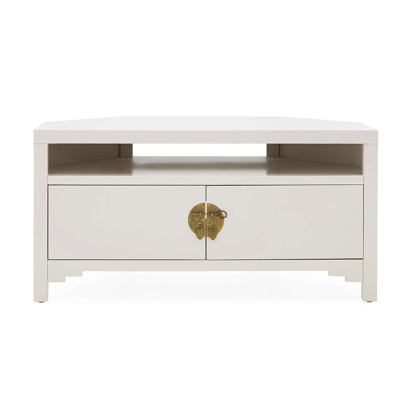Hanna Oyster Corner Tv Stand | Dunelm (with Images For Hanna Oyster Corner Tv Stands (View 2 of 8)
