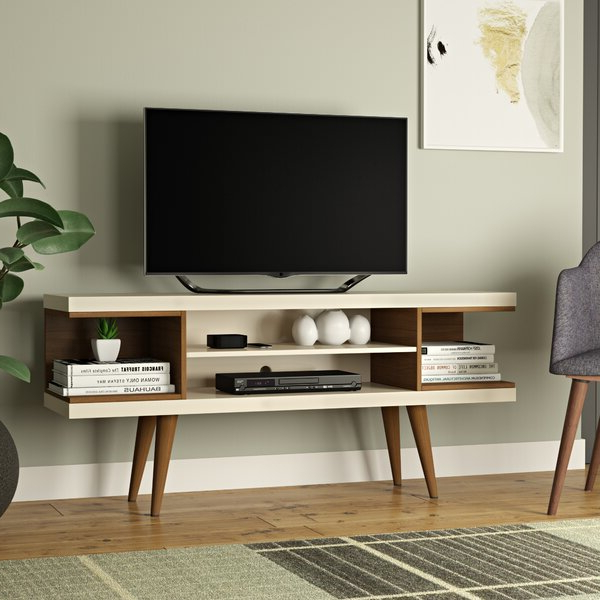 """Hashtag Home Sybil Tv Stand For Tvs Up To 50"""" & Reviews Pertaining To Colleen Tv Stands For Tvs Up To 50"""" (View 8 of 20)"""