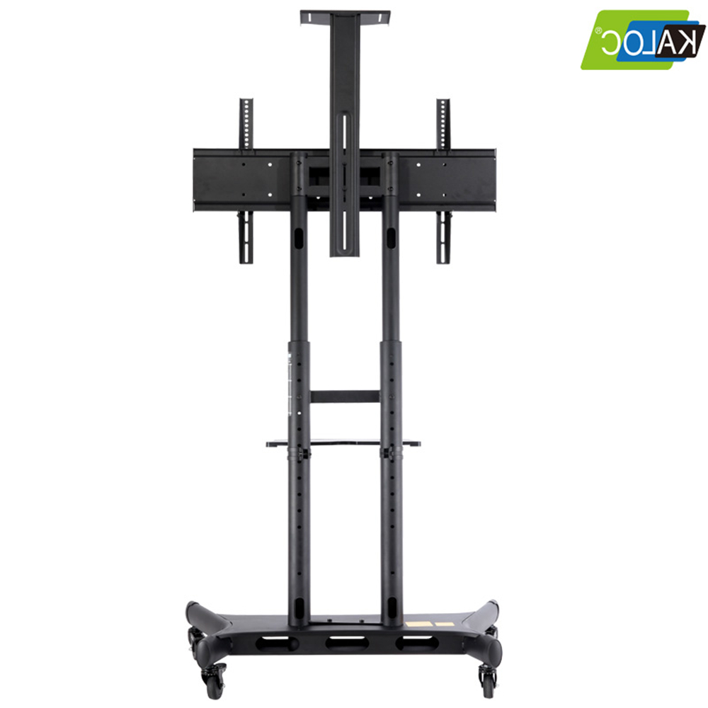 Height Adjustable Tv Stand With Mount Sliding Removable Tv With Regard To Mount Factory Rolling Tv Stands (View 9 of 20)