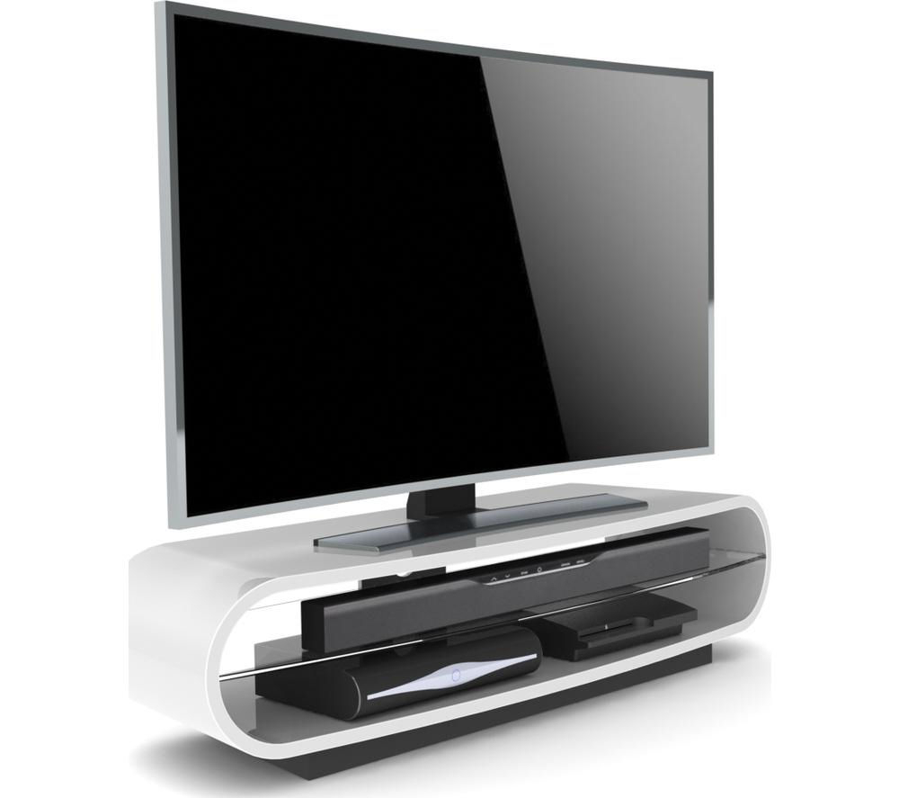 High Gloss White Tv Stands Corner Media Units Tv Inside Puro White Tv Stands (View 16 of 20)