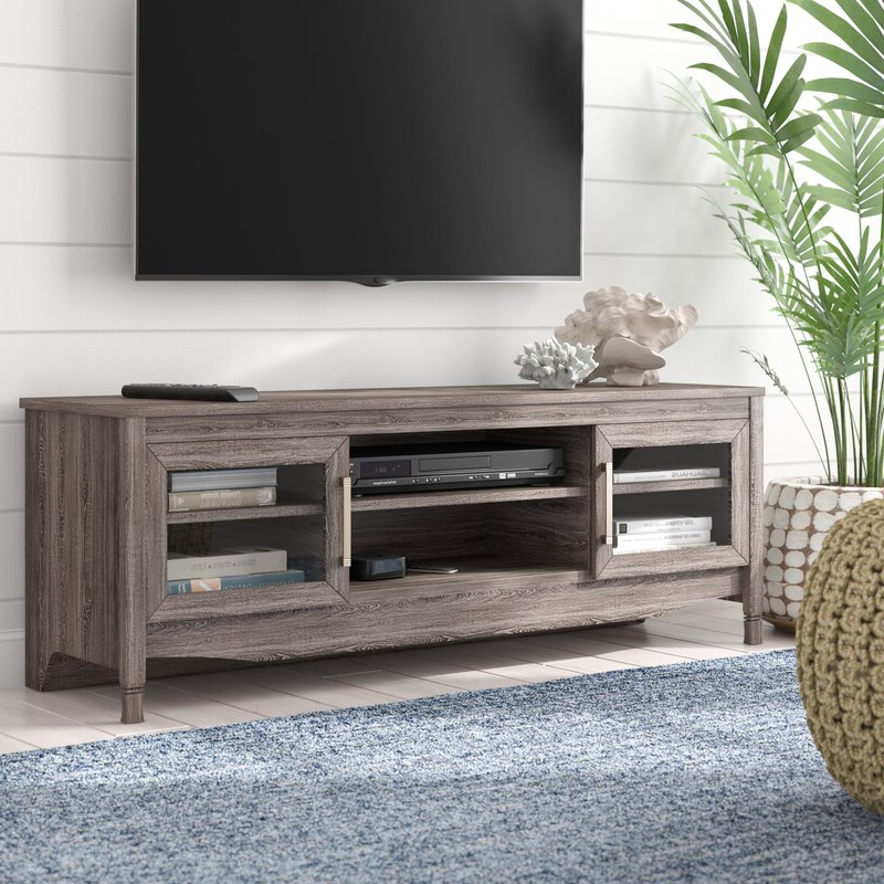 """Highland Dunes Buxton Tv Stand For Tvs Up To 65"""" & Reviews Within Stamford Tv Stands For Tvs Up To 65"""" (View 12 of 20)"""