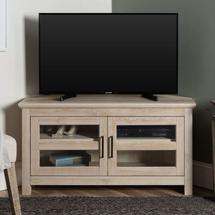 Home Accent Furnishings New 44 Inch Corner Television Regarding Bromley Grey Corner Tv Stands (View 3 of 20)