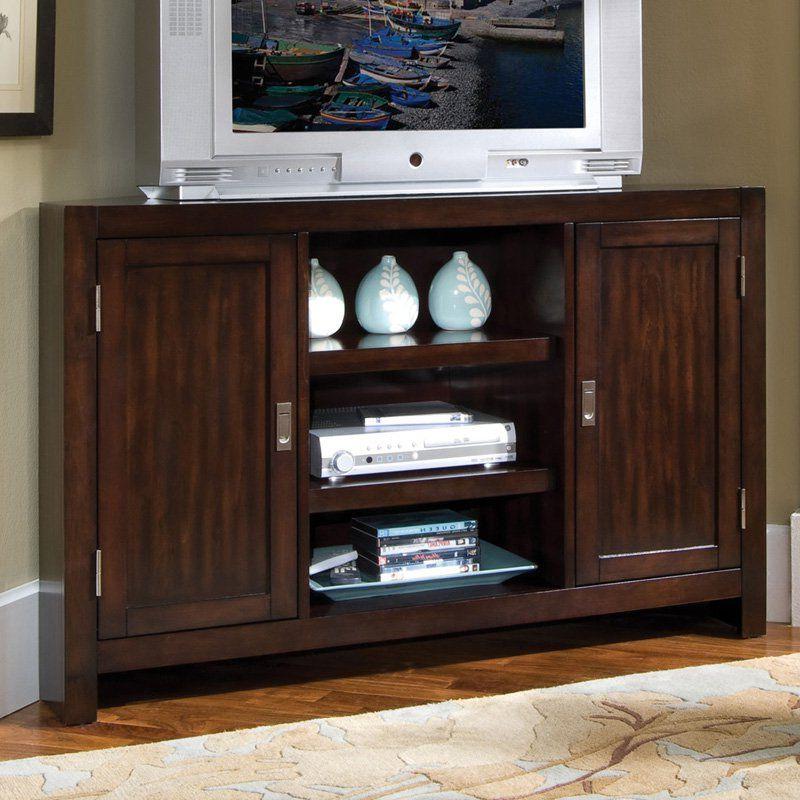 Home Styles City Chic Corner Entertainment Tv Stand Within Corner Entertainment Tv Stands (View 15 of 20)