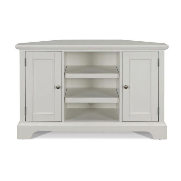 Home Styles Naples White Entertainment Center 5530 07 For Naples Corner Tv Stands (View 8 of 20)