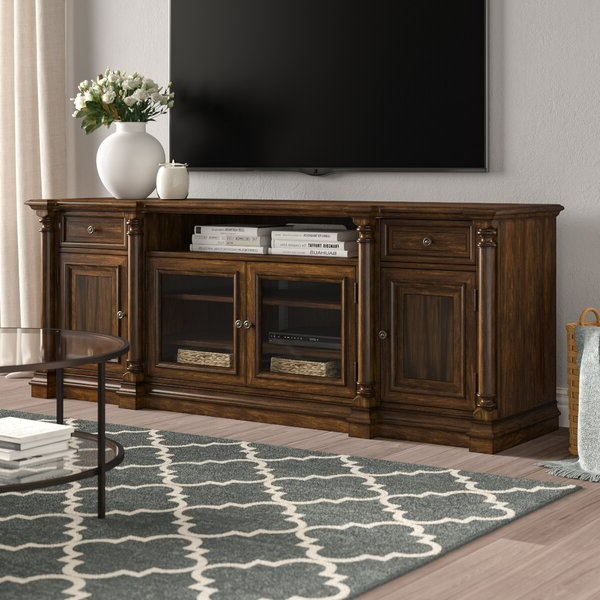 """Hooker Furniture Leesburg Solid Wood Tv Stand For Tvs Up With Regard To Gosnold Tv Stands For Tvs Up To 88"""" (View 8 of 20)"""