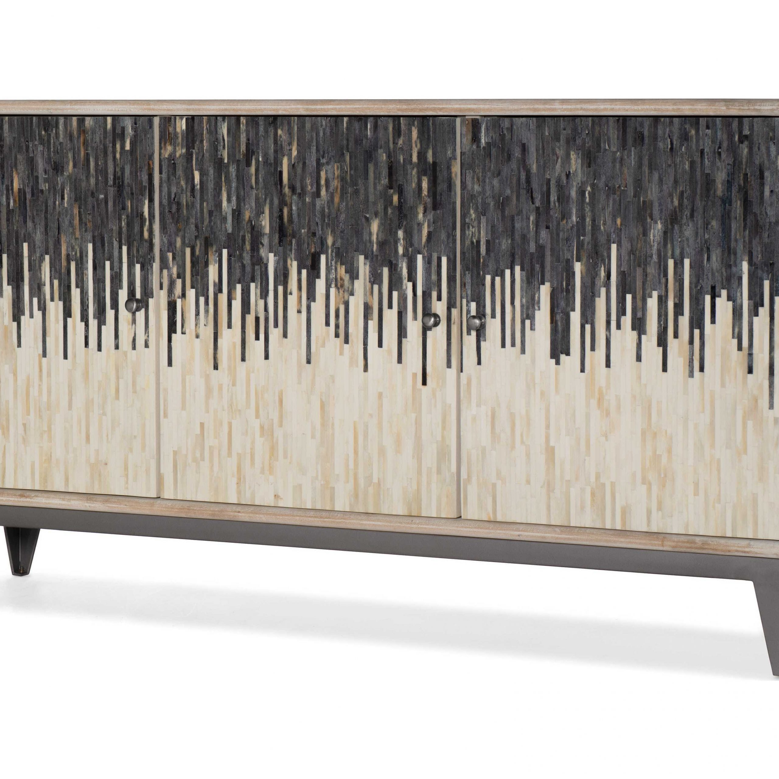 Hooker Furniture Light Wood 69'' Wide Tv Console For Lucy Cane Grey Wide Tv Stands (View 1 of 20)