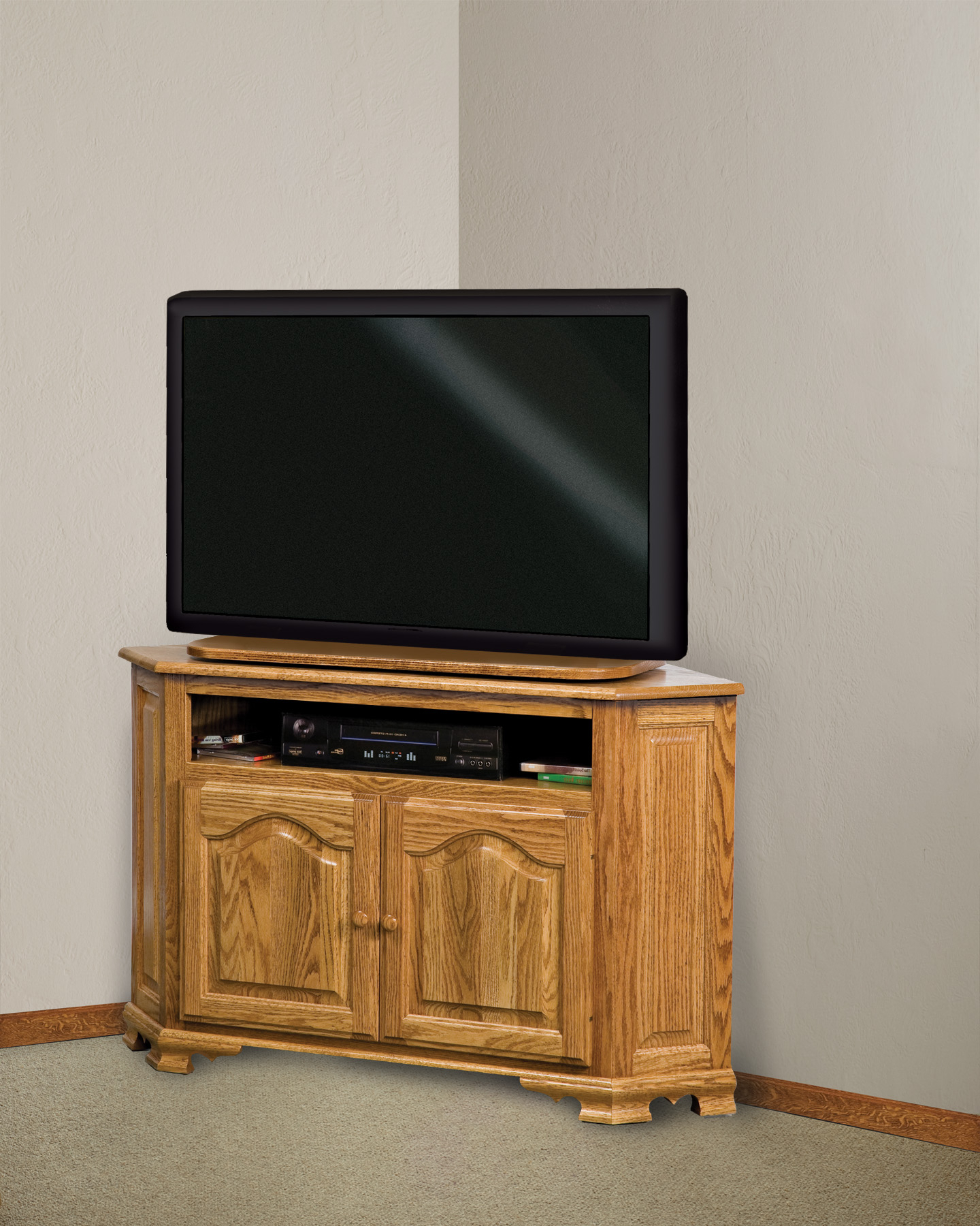 """Hoosier Heritage Corner Tv Stand 