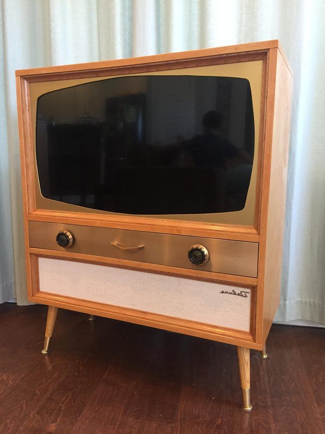 I Built A Mcm Television Cabinet For A Flatscreen Tv Within Owen Retro Tv Unit Stands (View 10 of 20)