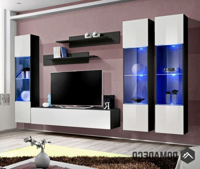 """Idea D12 – Tv Entertainment Stand   Muebles Salon Baratos With Bari 160 Wall Mounted Floating 63"""" Tv Stands (View 2 of 27)"""