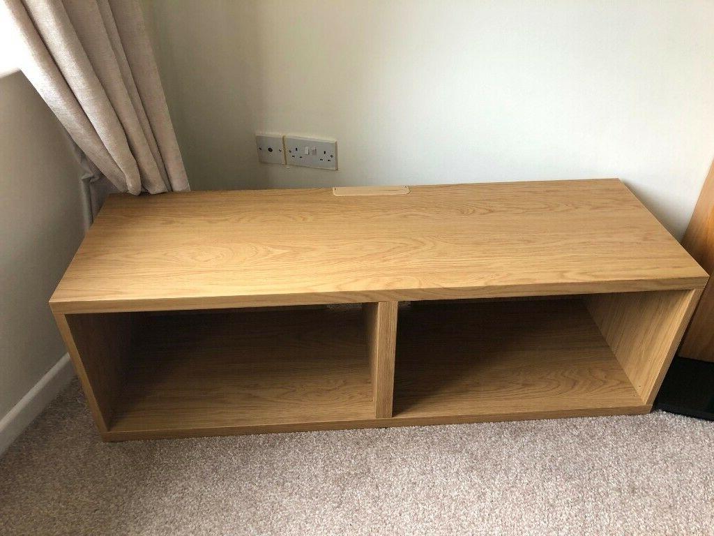 Ikea Besta Tv Bench. Oak Effect (View 14 of 20)