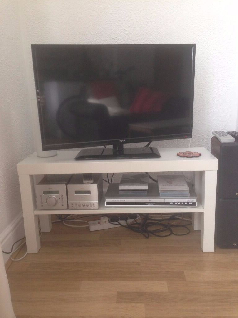 Ikea Lack Tv Bench – White | In Headingley, West Yorkshire In Puro White Tv Stands (View 13 of 20)