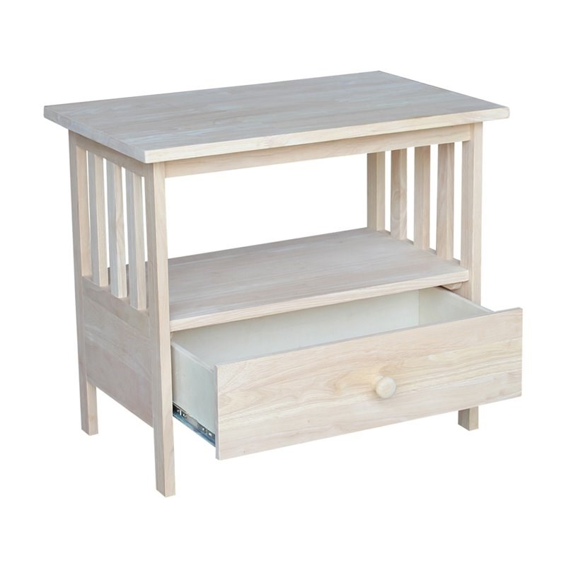 """International Concepts Unfinished Mission Tv Stand – Tv 28 Pertaining To Mission Corner Tv Stands For Tvs Up To 38"""" (View 18 of 20)"""