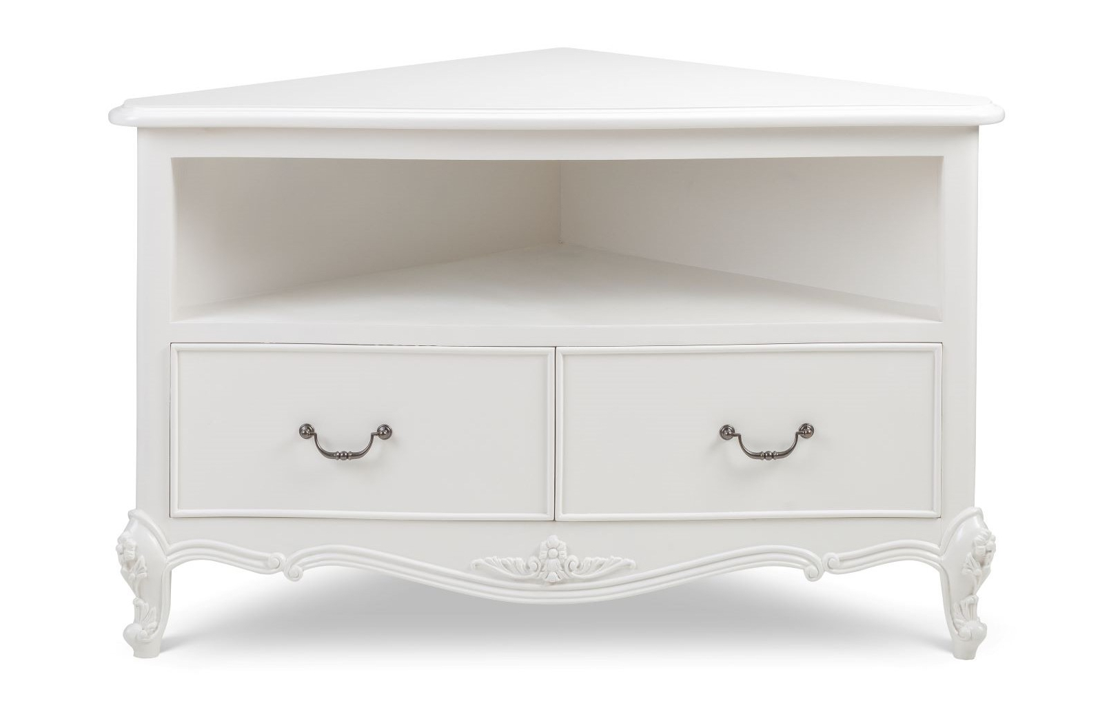 Ivory French Corner Tv Unit – Crown French Furniture Throughout Compton Ivory Corner Tv Stands (View 11 of 20)