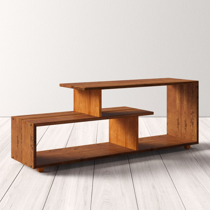 """Jon Solid Wood Tv Stand For Tvs Up To 60 Inches & Reviews With Millen Tv Stands For Tvs Up To 60"""" (View 15 of 20)"""