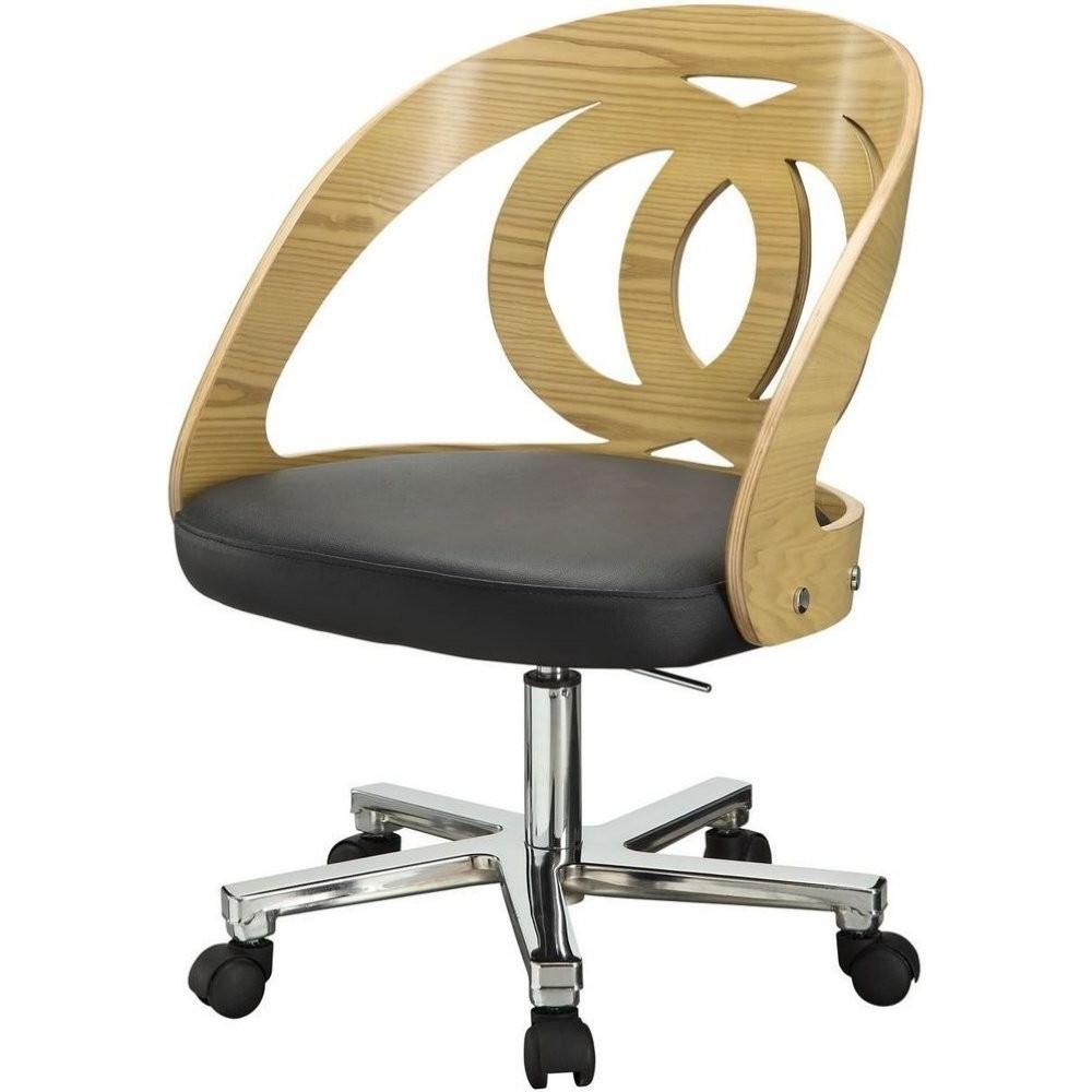 Jual Santiago Pc606 Office Oak Office Chair Great Price In Santiago Tv Stands (View 7 of 20)