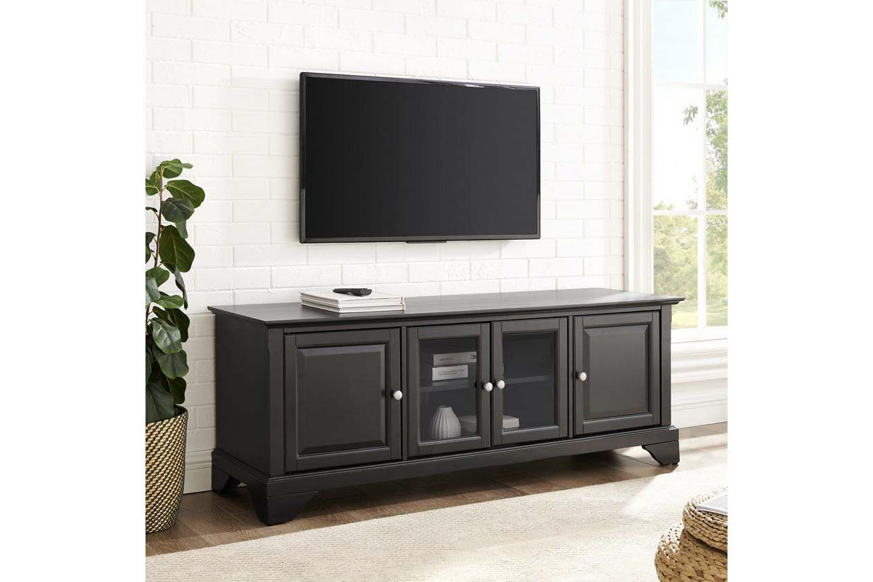 """Lafayette 60"""" Tv Stand   Ashley Furniture Homestore In Throughout Vasari Corner Flat Panel Tv Stands For Tvs Up To 48"""" Black (View 5 of 20)"""