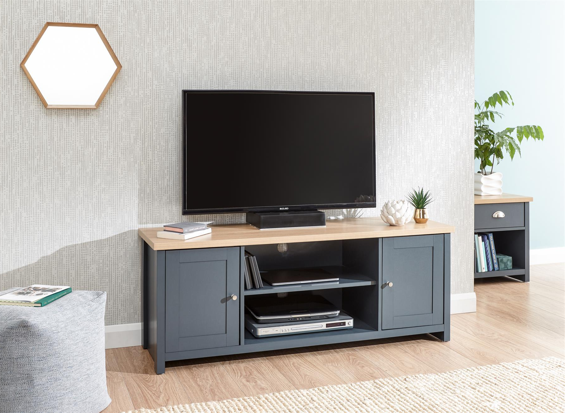 Lancaster Coffee Table Lamp Table Tv Stand Cabinet With Lancaster Corner Tv Stands (View 6 of 20)