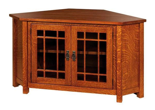 Lancaster Corner Tv Cabinet From Dutchcrafters Amish Furniture Intended For Lancaster Small Tv Stands (View 6 of 20)