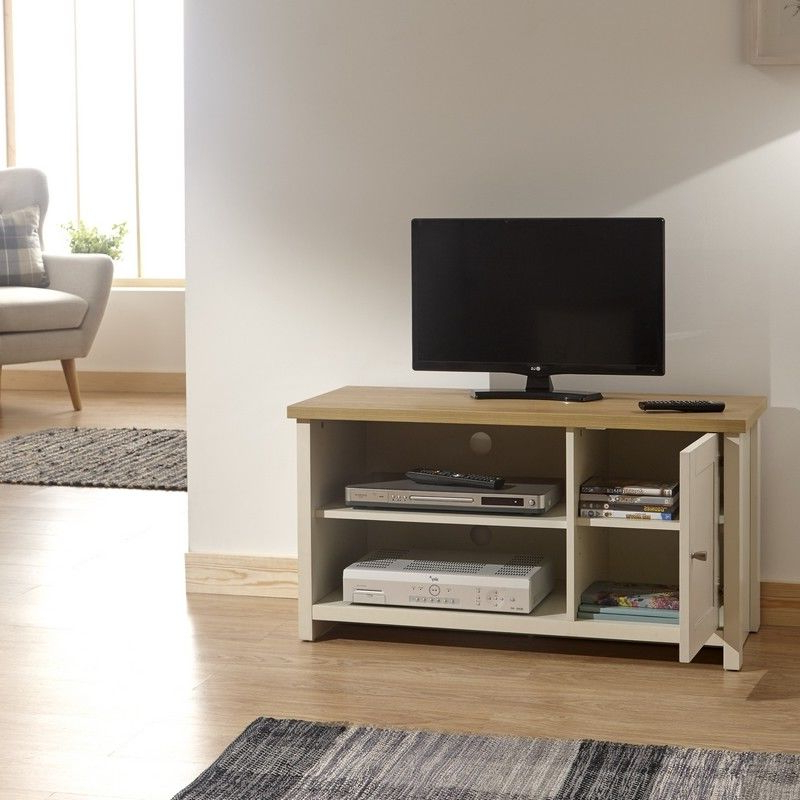 Lancaster Cream Small Tv Unit – One Stop Furniture Online With Regard To Lancaster Large Tv Stands (View 2 of 20)