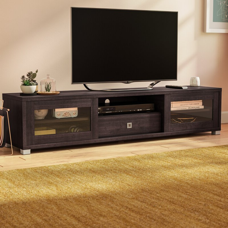 """Latitude Run® Orrville Tv Stand For Tvs Up To 78 Pertaining To Chrissy Tv Stands For Tvs Up To 75"""" (View 15 of 20)"""