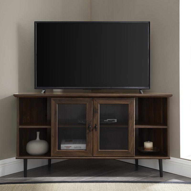 "Laurel Foundry Modern Farmhouse Gerardo Corner Tv Stand Inside Twila Tv Stands For Tvs Up To 55"" (View 2 of 20)"