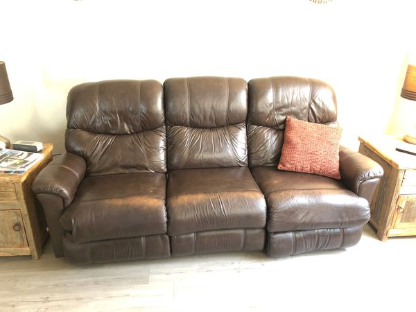Lazy Boy Leather Couch Recliner $99 For Sale In Scottsdale Pertaining To Hanna Oyster Wide Tv Stands (View 13 of 20)