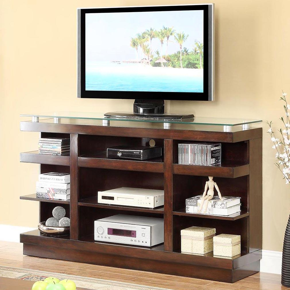 Legends Furniture Novella Znov 1465 9 Shelf Tv Stand With Within Tv Stands With Drawer And Cabinets (View 10 of 20)