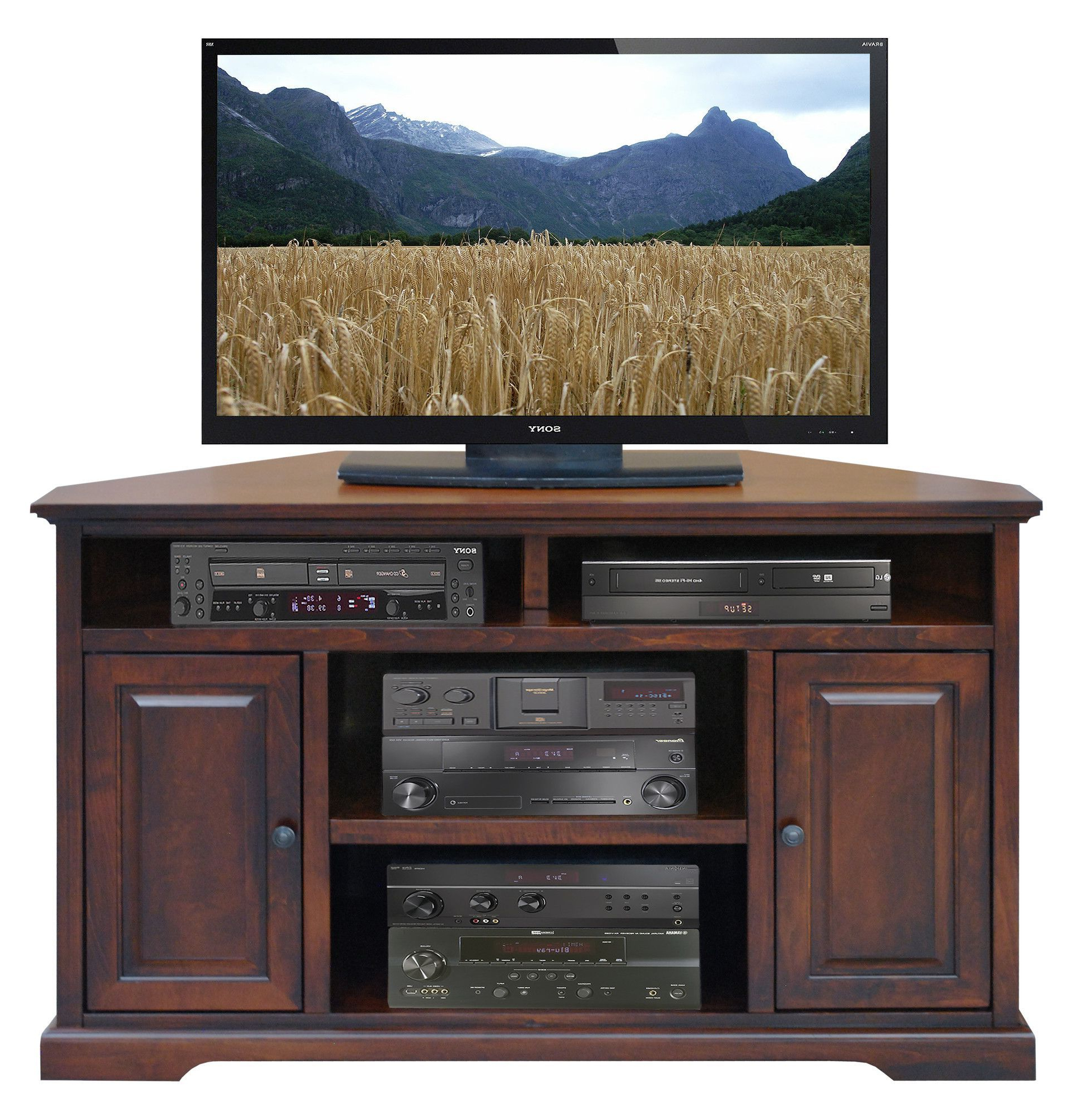 """Legrand Corner Tv Stand For Tvs Up To 60"""" In 2020 