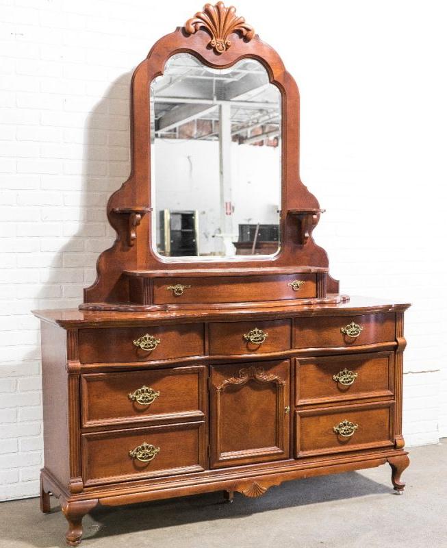 Lexington Antique Dresser – Dresser In Hanna Oyster Wide Tv Stands (View 12 of 20)