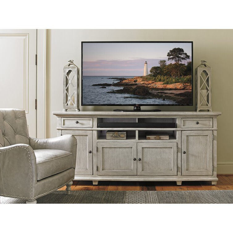 """Lexington Oyster Bay Tv Stand For Tvs Up To 85"""" & Reviews Regarding Bustillos Tv Stands For Tvs Up To 85"""" (View 9 of 20)"""
