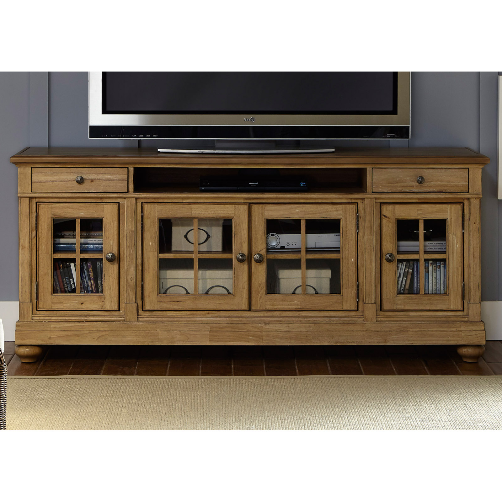 Liberty Furniture Harbor View Tv Stand – Tv Stands At Throughout Harbor Wide Tv Stands (View 10 of 20)
