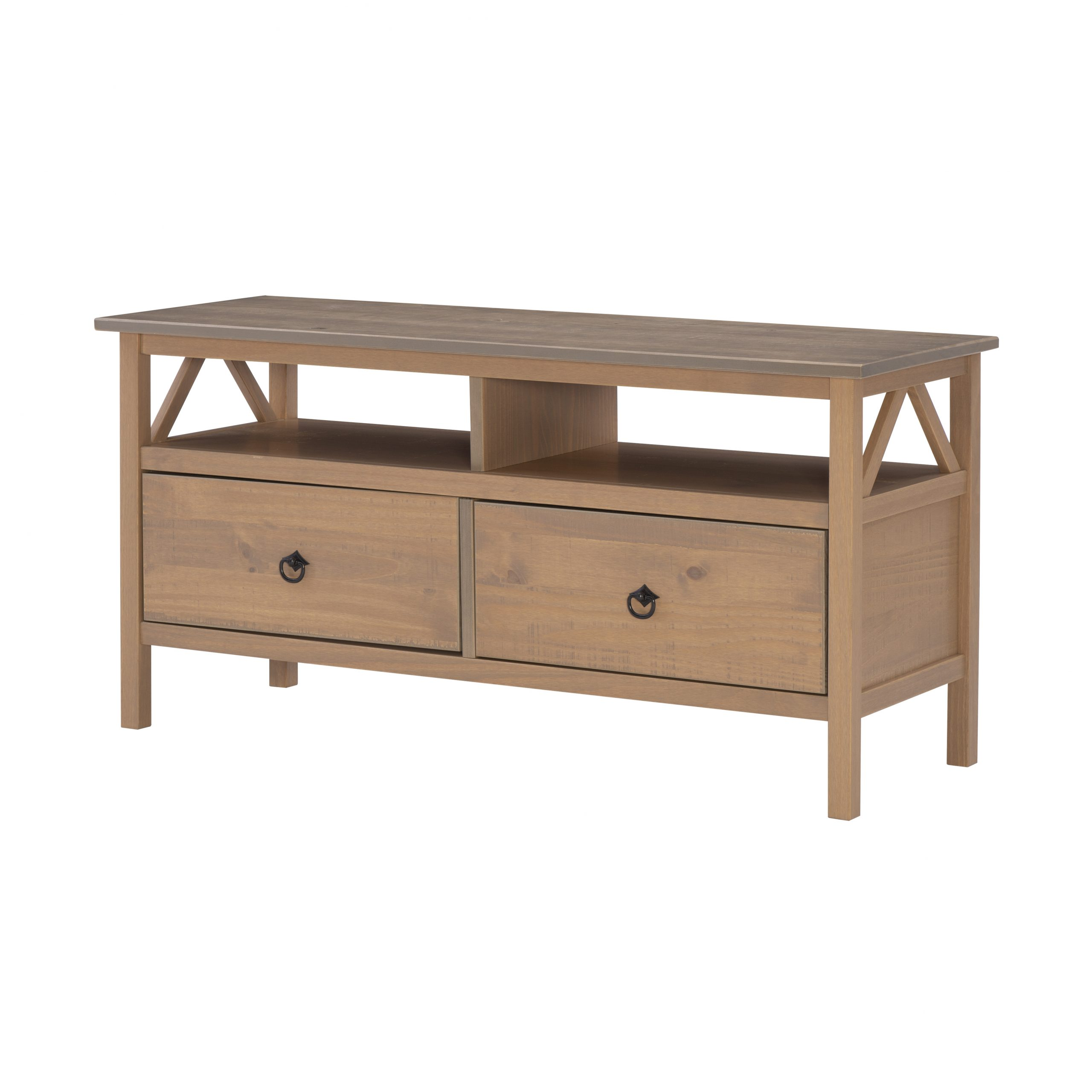 Linon Home Titian Tv Stand For Tvs Up To 40 Inches Pertaining To Mainstays Tv Stands For Tvs With Multiple Colors (View 18 of 20)