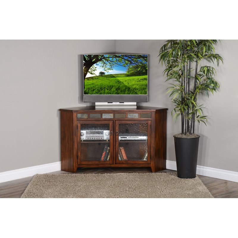 """Loon Peak® Hearns Corner Tv Stand For Tvs Up To 60"""" 