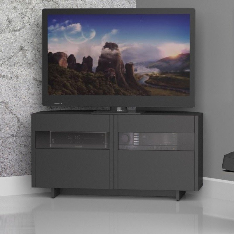 """Low Corner Tv Stand – Ideas On Foter For Vasari Corner Flat Panel Tv Stands For Tvs Up To 48"""" Black (View 6 of 20)"""