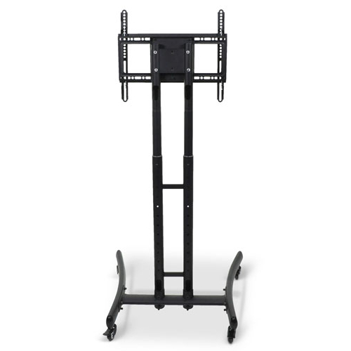 Luxor Adjustable Height Rolling Tv Stand – Fp1000 For Mount Factory Rolling Tv Stands (View 15 of 20)