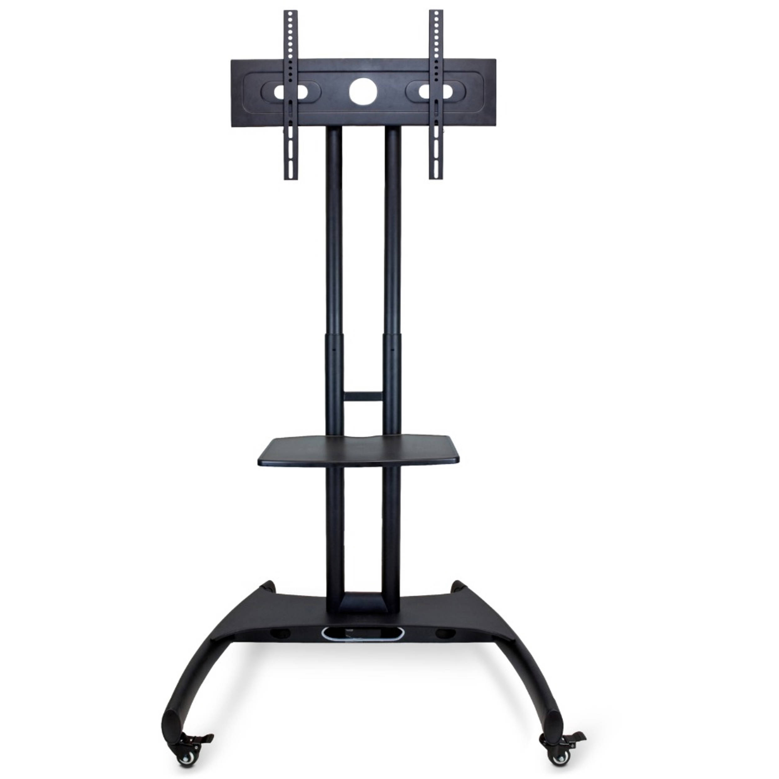 Luxor Fp2500 Adjustable Height Lcd Tv Stand Fp2500 B&h Photo Throughout Swivel Floor Tv Stands Height Adjustable (View 16 of 20)
