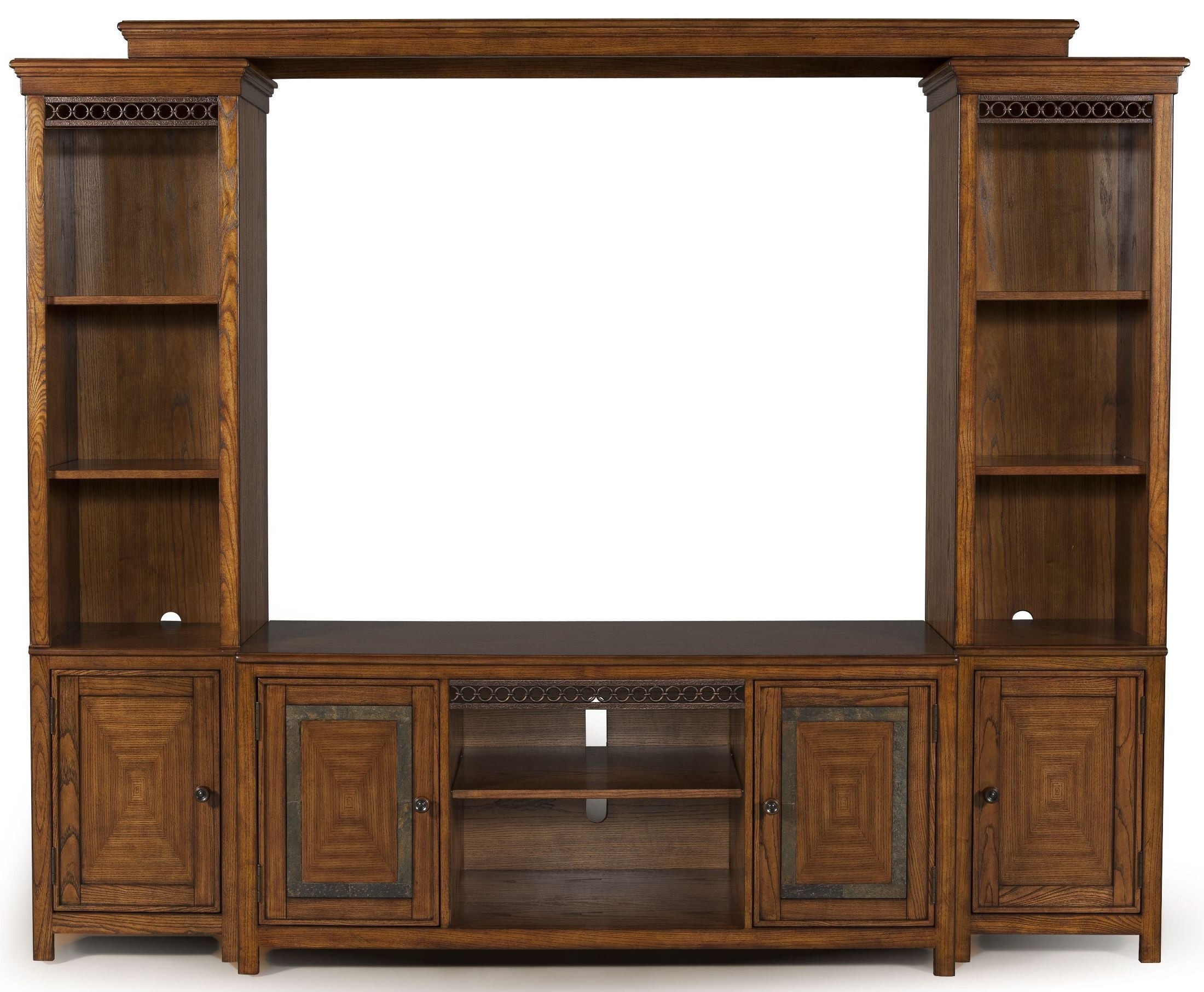 Madison Entertainment Wall, E1125 05 35(2) 55, Magnussen Pertaining To Rey Coastal Chic Universal Console 2 Drawer Tv Stands (View 3 of 20)