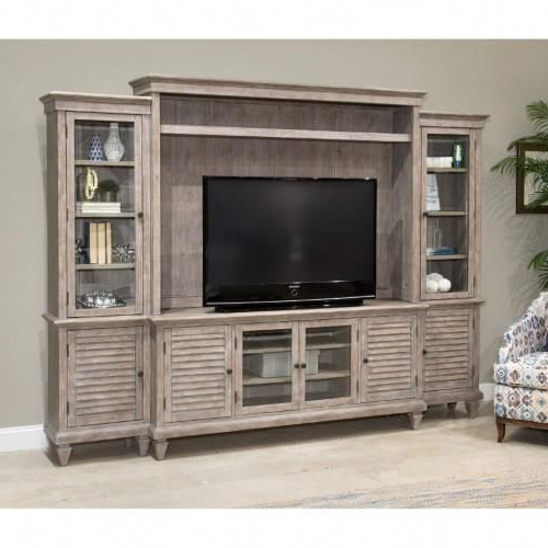 Magnussen Lancaster Rustic Entertainment Wall Unit, All Pertaining To Lancaster Small Tv Stands (View 13 of 20)