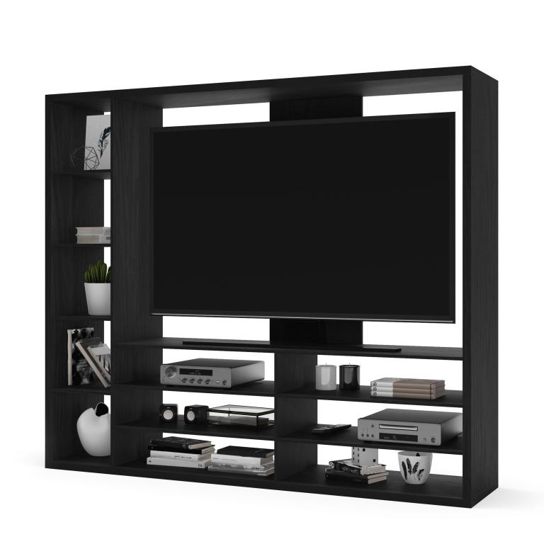 Mainstays Entertainment Center For Tvs Up To 55″, Ideal Tv Regarding Mainstays Parsons Tv Stands With Multiple Finishes (View 10 of 20)
