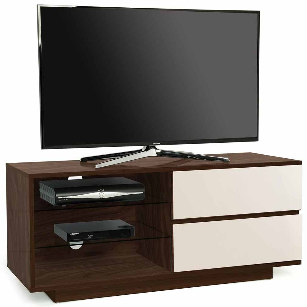 Mda Designs Gallus Walnut/ivory Tv Stands Intended For Compton Ivory Extra Wide Tv Stands (View 7 of 20)
