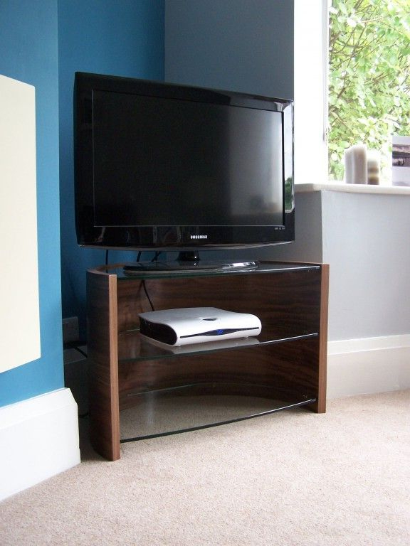 Media Unit | Glass Wall Shelves, Glass Shelves In Bathroom With Jackson Corner Tv Stands (View 6 of 20)