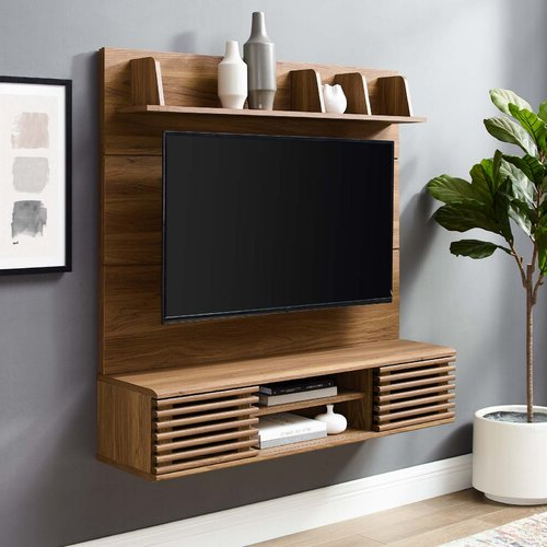 """Mercury Row® Grandstaff Floating Tv Stand For Tvs Up To 50 Regarding Aaliyah Floating Tv Stands For Tvs Up To 50"""" (View 14 of 20)"""