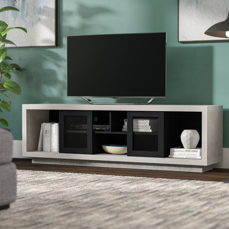 """Mercury Row® Stallman Tv Stand For Tvs Up To 70"""" & Reviews Intended For Hal Tv Stands For Tvs Up To 60"""" (View 7 of 20)"""