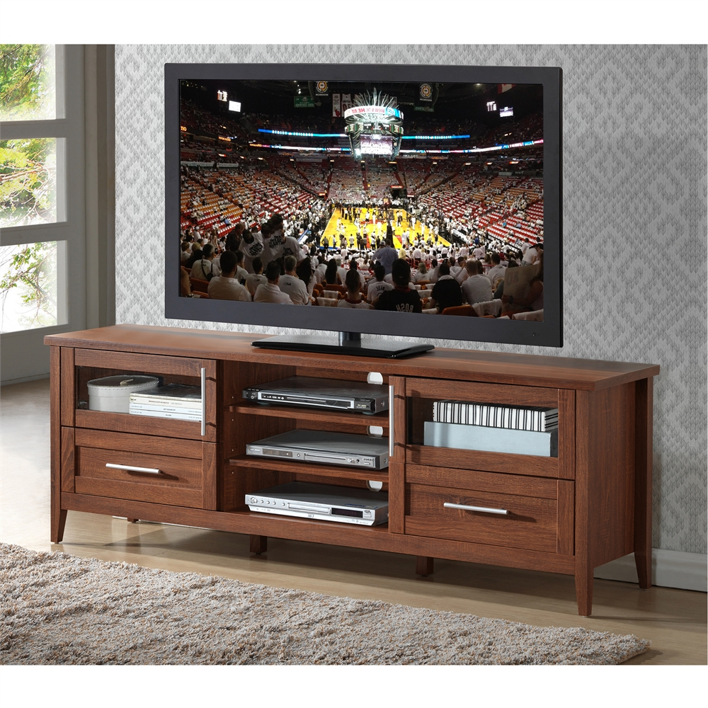 """Modern Tv Stand With Storage For Tvs Up To 75"""" (View 1 of 20)"""