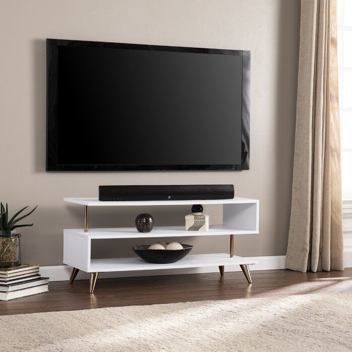 """Montauk Tv Stand For Tvs Up To 43""""   Low Profile Tv Stand Pertaining To Orrville Tv Stands For Tvs Up To 43"""" (View 4 of 20)"""