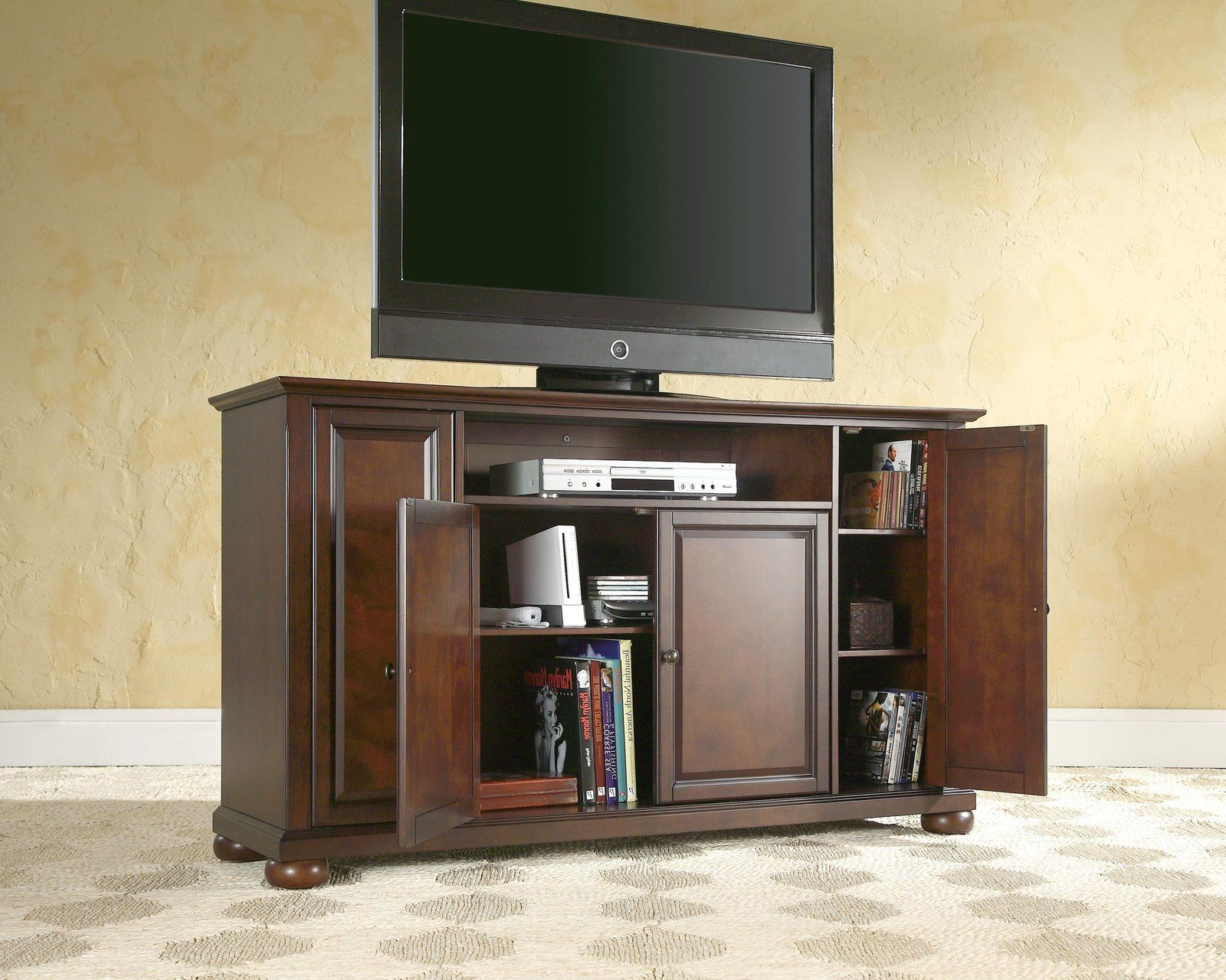 """Morris Tv Stand For Tvs Up To 60"""" (with Images) 